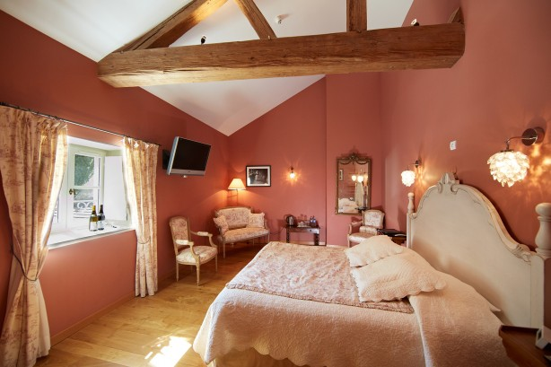 Ambiance romantique olivier leflaive for Chambre ambiance romantique