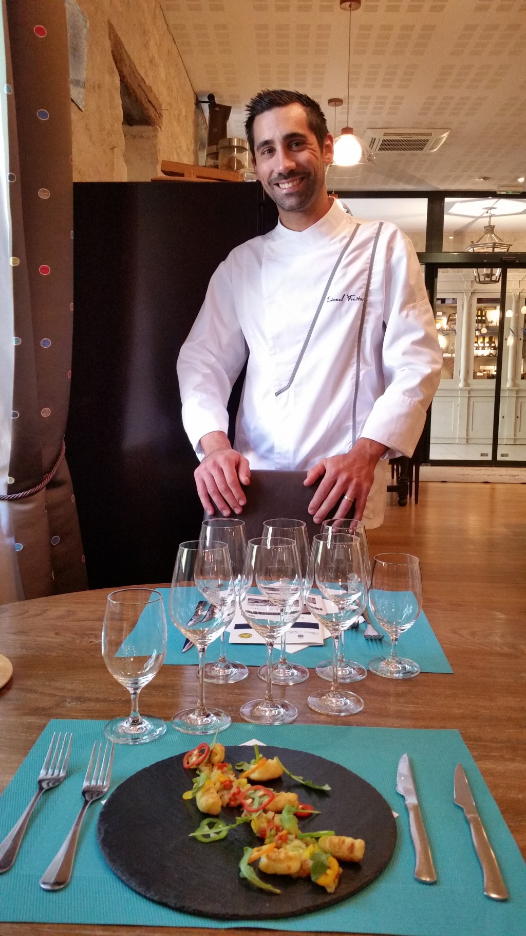 A new chef in our kitchen olivier leflaive - La table d olivier leflaive puligny montrachet ...