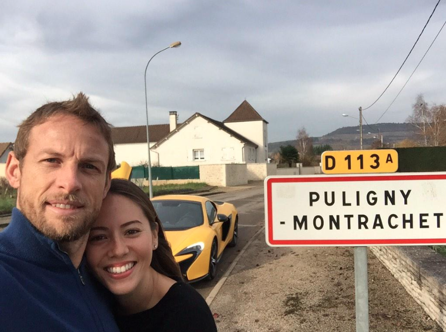 Jenson button the f1 world champion olivier leflaive - La table d olivier leflaive puligny montrachet ...
