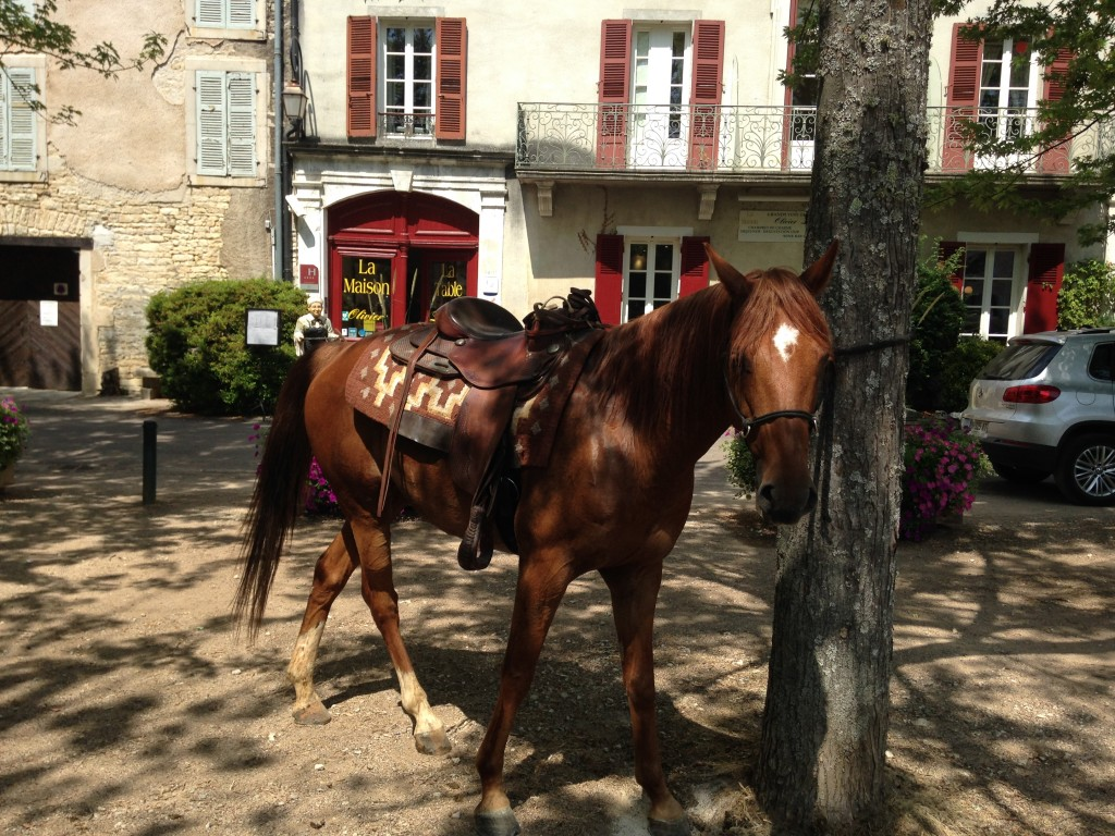 Aujourd hui c est la visite des cowboys olivier leflaive - La table d olivier leflaive puligny montrachet ...
