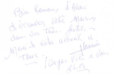 Livre d'or Olivier Leflaive FR 201500002