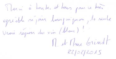 Livre d'or Olivier Leflaive FR 201500003