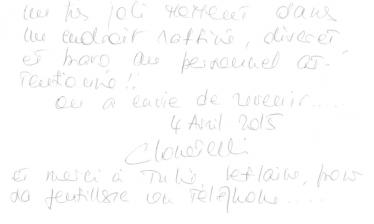 Livre d'or Olivier Leflaive FR 201500006