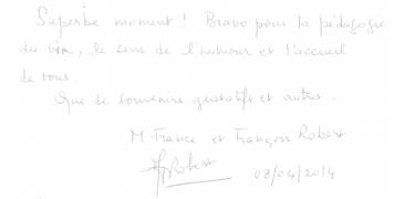 Livre d'or Olivier Leflaive FR 201500007