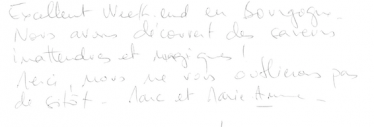 Livre d'or Olivier Leflaive FR 201500008