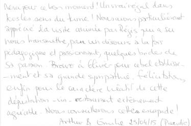 Livre d'or Olivier Leflaive FR 201500011