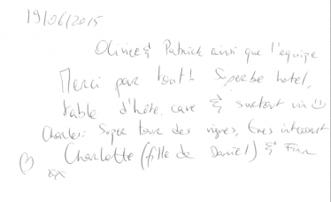 Livre d'or Olivier Leflaive FR 201500025