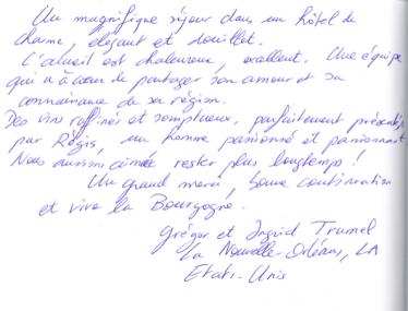 Livre d'or Olivier Leflaive FR 201500038