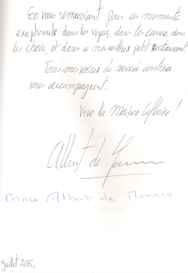 Livre d'or Olivier Leflaive FR 201500040