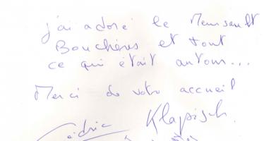 Livre d'or Olivier Leflaive FR 201500041