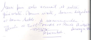 Livre d'or Olivier Leflaive FR 201500051