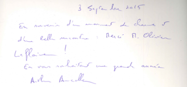 Livre d'or Olivier Leflaive FR 201500052