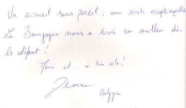 Livre d'or Olivier Leflaive FR 201500054
