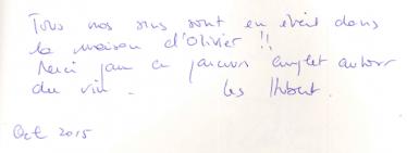 Livre d'or Olivier Leflaive FR 201500069