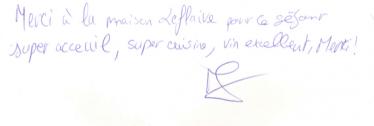 Livre d'or Olivier Leflaive FR 201500071