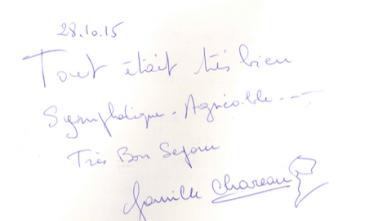 Livre d'or Olivier Leflaive FR 201500072