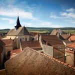 Eglise toits Puligny-Montrachet